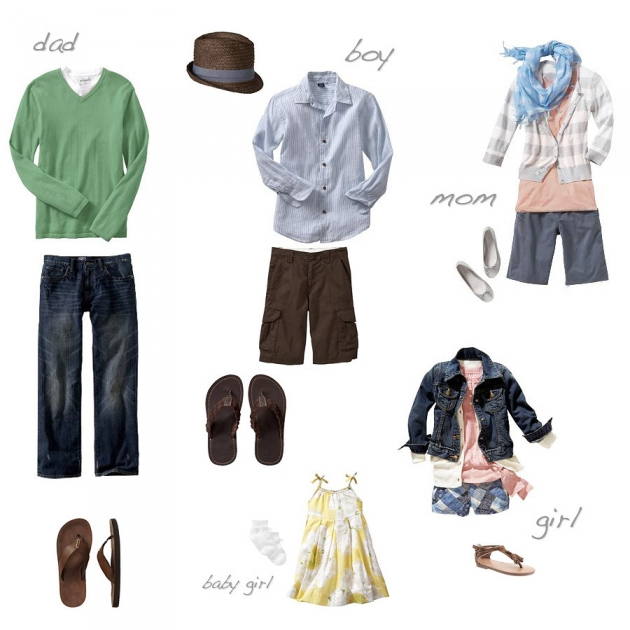 What to wear  Great Spring Looks for Family Photo Sessions u00bb Lisa Hessel Photography
